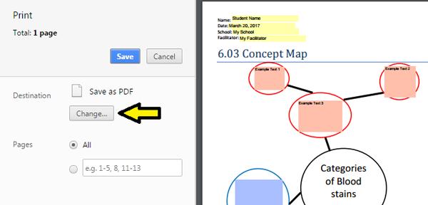 Saving Fillable PDF Files on a Chromebook